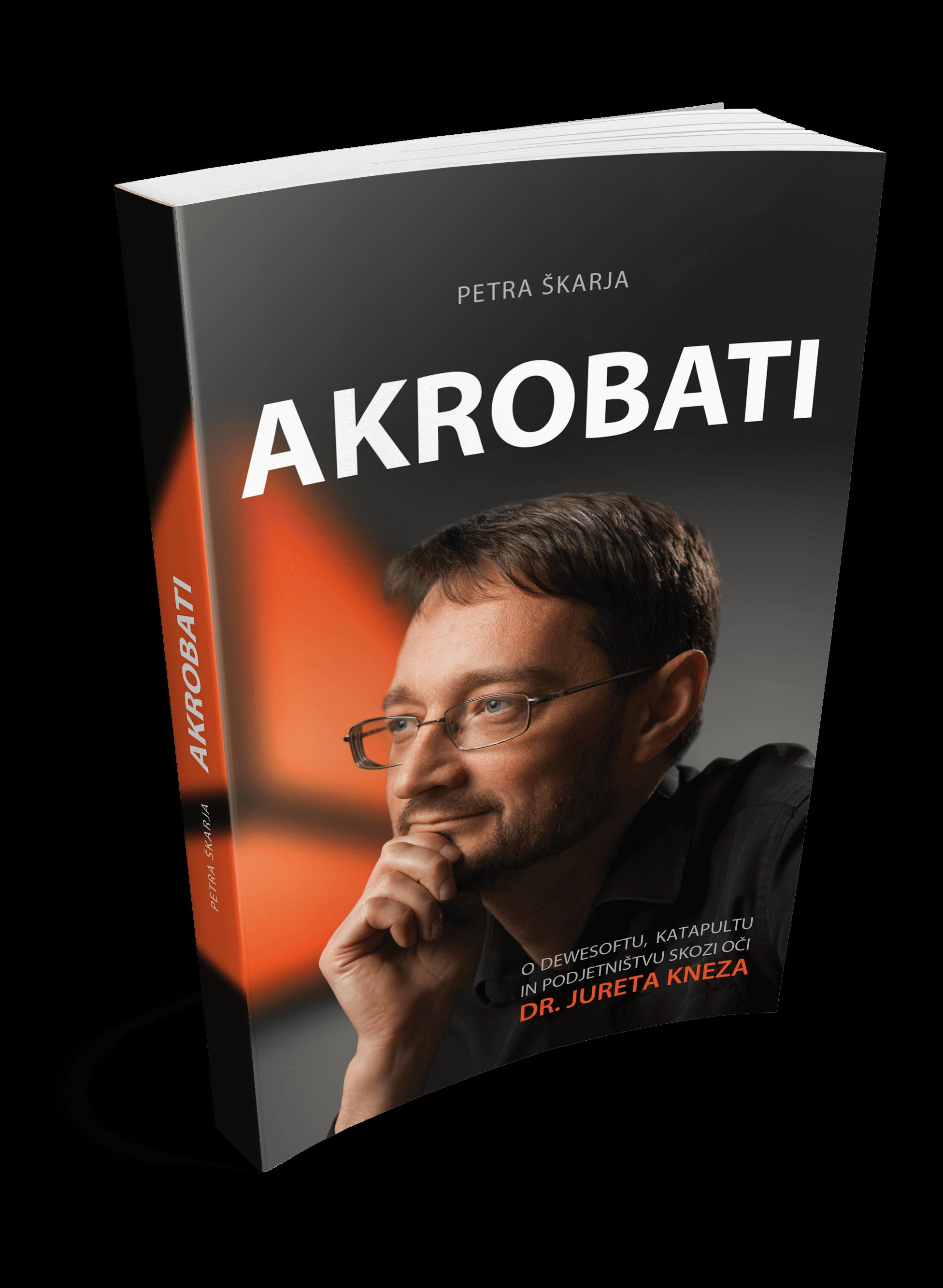 dr Jure Knez, knjiga Akrobati
