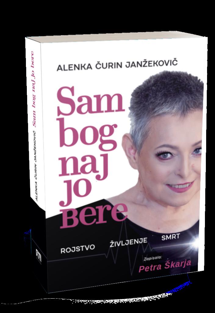 Alenka Čurin Janžekovič, knjiga Sam bog naj jo bere